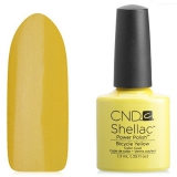 Shellac CND Bicycle Yellow